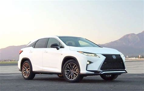 2019 Lexus Rx 350 F Sport Concept, Specs And Performance