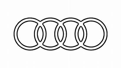 Audi Emblem Symbol Draw Kleurplaat Zeichen Ferrari