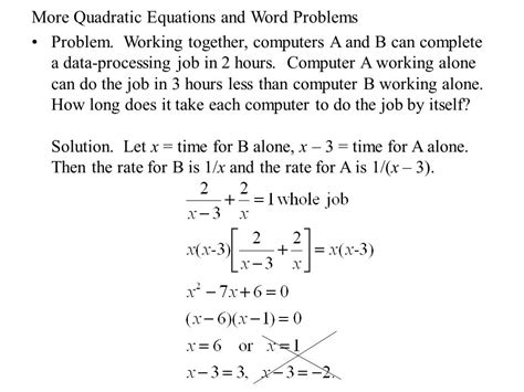 The Quadratic Equation  Ppt Video Online Download