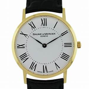 Baume Mercier MOA08070 Classima 18k Yellow Gold Watch