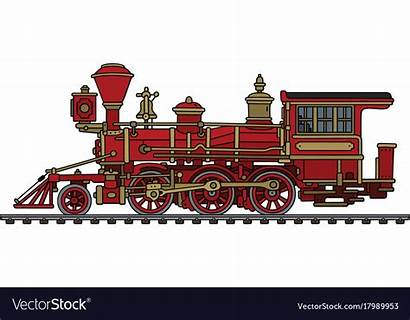 Steam Locomotive Wild West Vector Classic Royalty