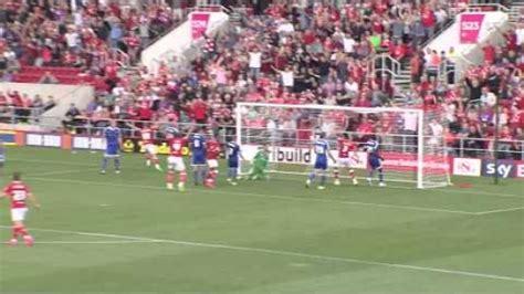 Bristol City FC vs Brentford FC highlights (2-4)