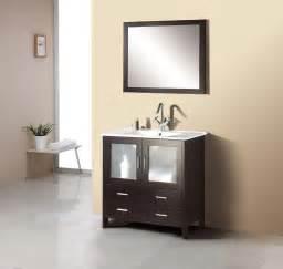 Menards Bathroom Vanities Tops by 35 Quot Virtu Felice Ms 313 Es Bathroom Vanity Bathroom