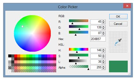 hex color chooser colorpicker controls for windows forms articles and