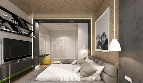 creative bedrooms  artwork  diverse textures