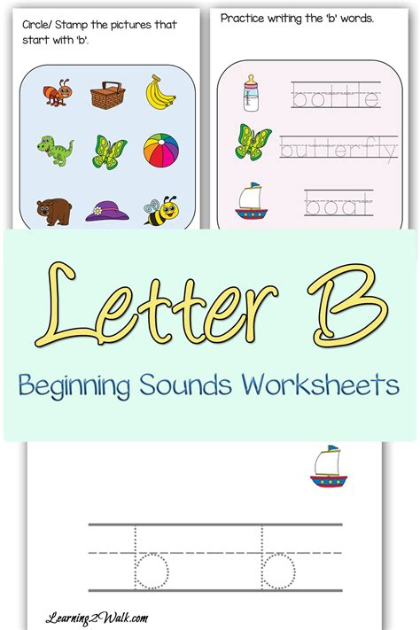 beginning sounds b worksheets free beginning sounds b worksheets