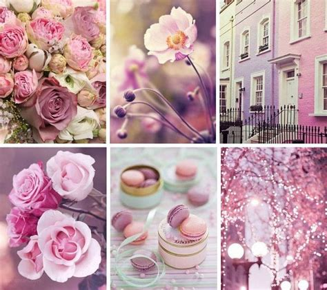 pink moodboard beautiful collage color collage flowers