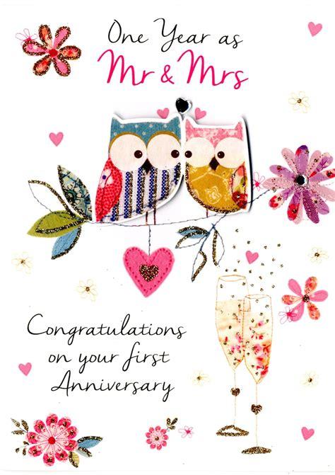 wedding anniversary greeting card cards