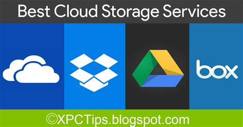 Best Cloud Storage For by Top 10 Best Cloud Storage Services 2017 Xpctips