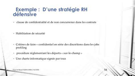 clause de non concurrence exemple dimensions strat 233 gique des rh et du capital humain v2