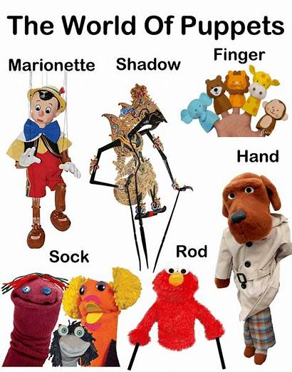 Puppets Types Puppet Puppetry Shows Children Clipart