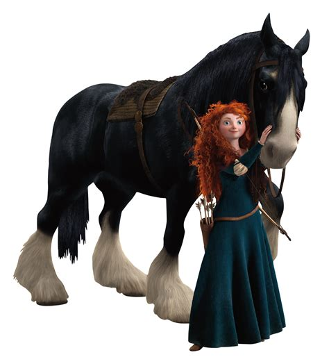 brave merida disney wiki horse angus role