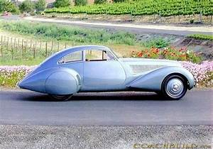 Pourtout Bentley 425L Coupe Embiricos 1938 Design Clearly Inspired By Alfa Romeo 6C 2300