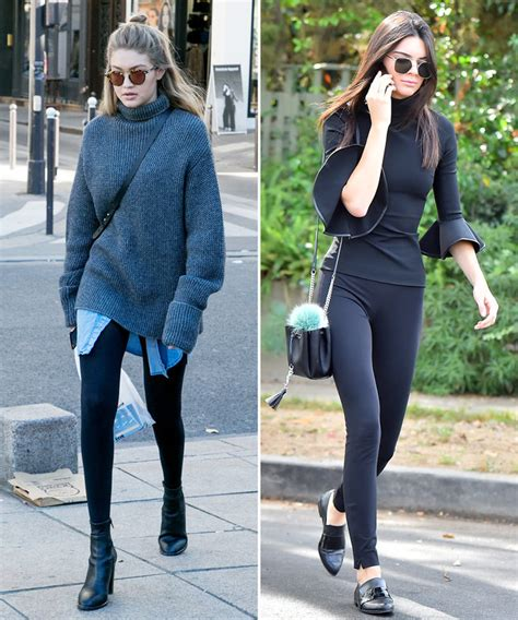 How to Wear Leggings in the Winter - Celebrities in Leggings | InStyle.com