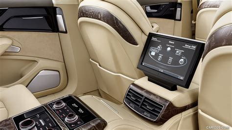 2018 Audi A8 L Extended Rear Seat Entertainment System