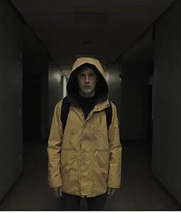 Jonas Kahnwald Dark Yellow Hooded Jacket On Usajacket