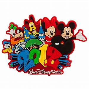 Your WDW Store - Disney Magnet - 2012 Logo Mickey and Pals