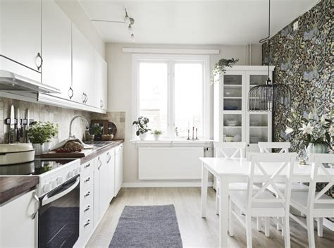 interior design kitchens creative scandinavian home interior combined with plants decor 1903