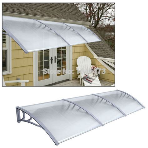 ship  uk    garden patio door canopy cover front   window awning porch shelter