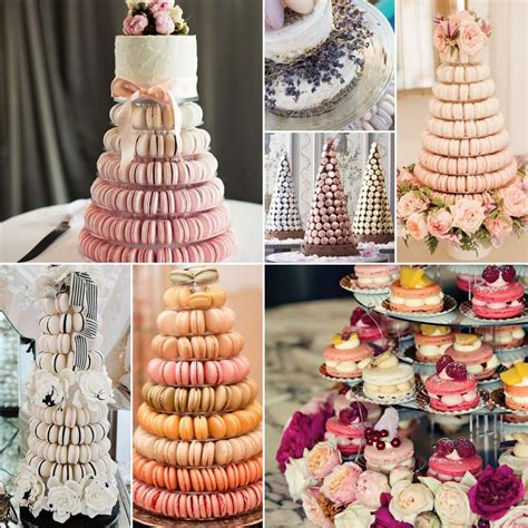 macaroon wedding cakes