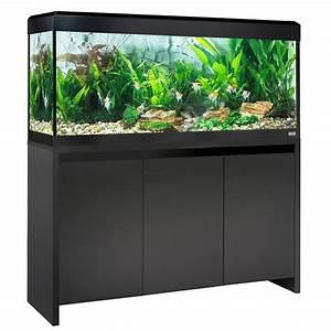 Aquarium Set Led : fluval roma 240 led aquarium cabinet set black ~ Watch28wear.com Haus und Dekorationen