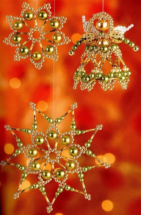 top 40 beaded christmas decorations christmas celebration