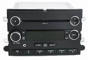 Ford Mustang 2008-2009 OEM Radio AM FM mp3 CD Player w Aux Input 8R3T-18C869-AG - 1 Factory Radio