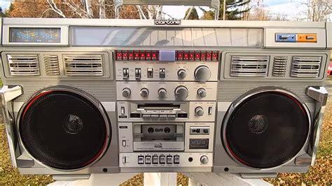 Rare Huge Clairtone 7980 Boombox Ghetto Blaster Very Clean