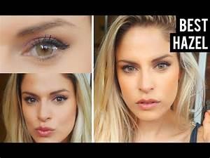 Best Color Contacts for Dark Brown Eyes - Solotica Hazel ...