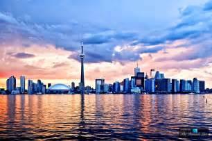 Canada City Toronto Skyline