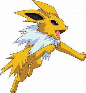 Jolteon Pokemon Pokedex 135