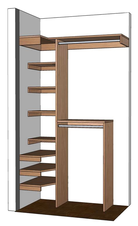 Closet Storage Units by Closet Storage Unit Plans Woodworking Projects Plans