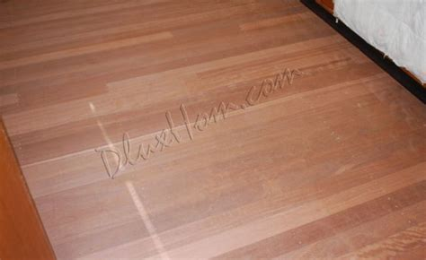 Timber Floor Sand Polish