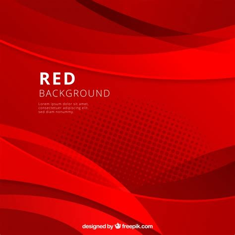 abstract background  red shapes vector