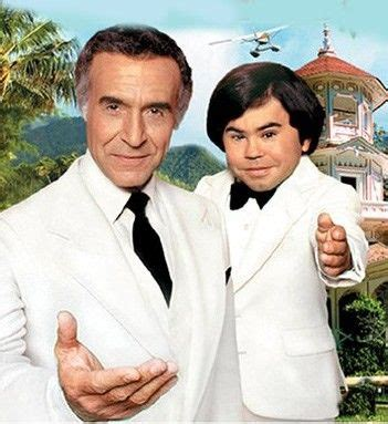 Hervé Villechaize (Tattoo) on the right and Ricardo ...