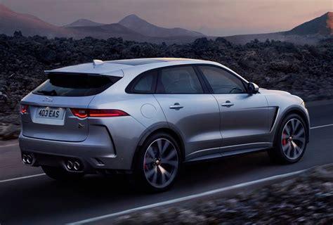 jaguar  pace svr revealed  potent supercharged