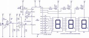 Tachometer Circuit Led The Led Display Circuit