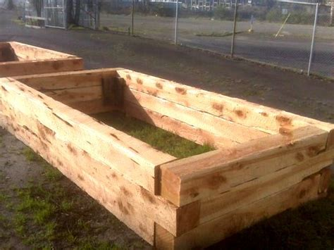 6 x 6 cedar post raised bed search raised