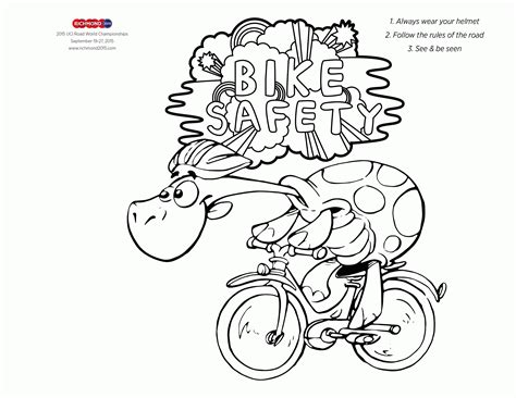 Safety Coloring Pages - Costumepartyrun