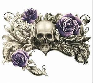 Rosen Tattoos Schwarz : temporary tattoo flash schwarz sch del rosen gothic punk halloween gruselig ebay ~ Frokenaadalensverden.com Haus und Dekorationen