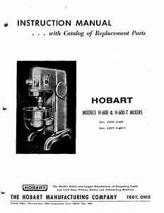 Hobart Mixer H
