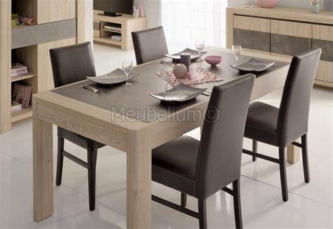 table salle 224 manger ch 234 ne clair avec 2 allonge criso