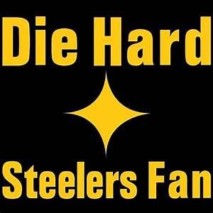 Yellow Pittsburgh Steelers Logo Decal Window Sticker