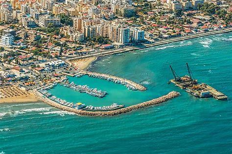 cyprus located worldatlascom