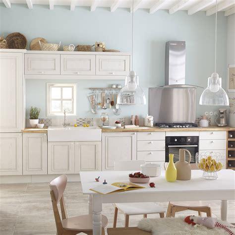 meubles cuisine blanc meuble de cuisine blanc delinia cosy leroy merlin