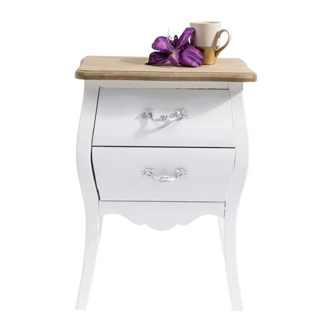 table chevet blanche chevet blanc kare design
