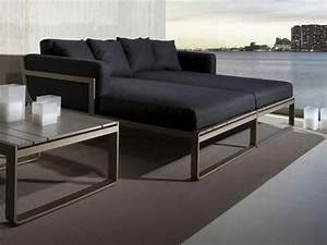 le canape de jardin embellit votre espace exterieur With tapis ethnique avec canape de jardin en aluminium