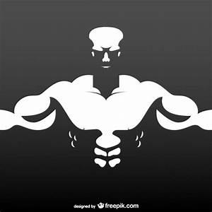 Bodybuilder free illustration Vector | Free Download