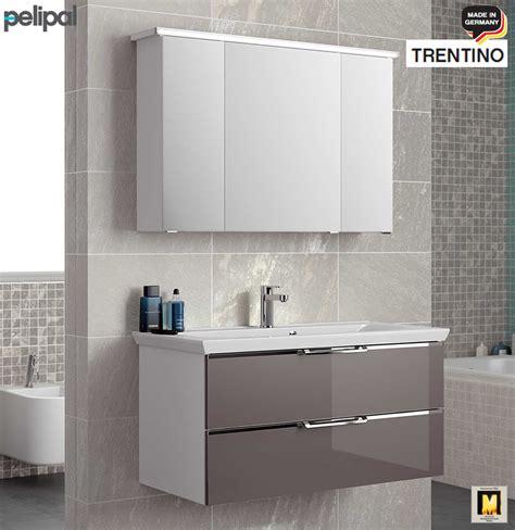Badezimmer Spiegelschrank Pelipal by Pelipal Trentino Badm 246 Bel Set Mit Glas Front 107 Cm