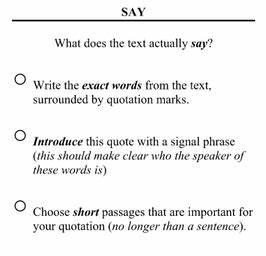 Say Mean Matter - Writing Analysis